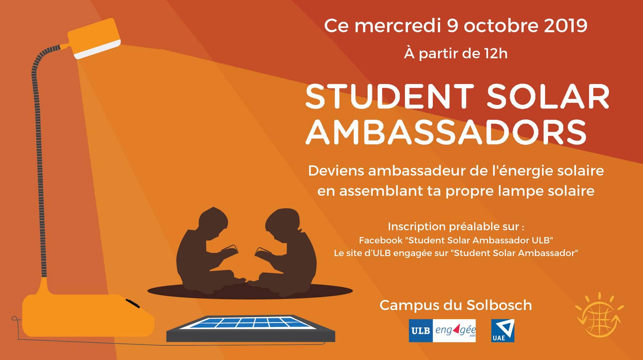 Student Solar Ambassador  ULB