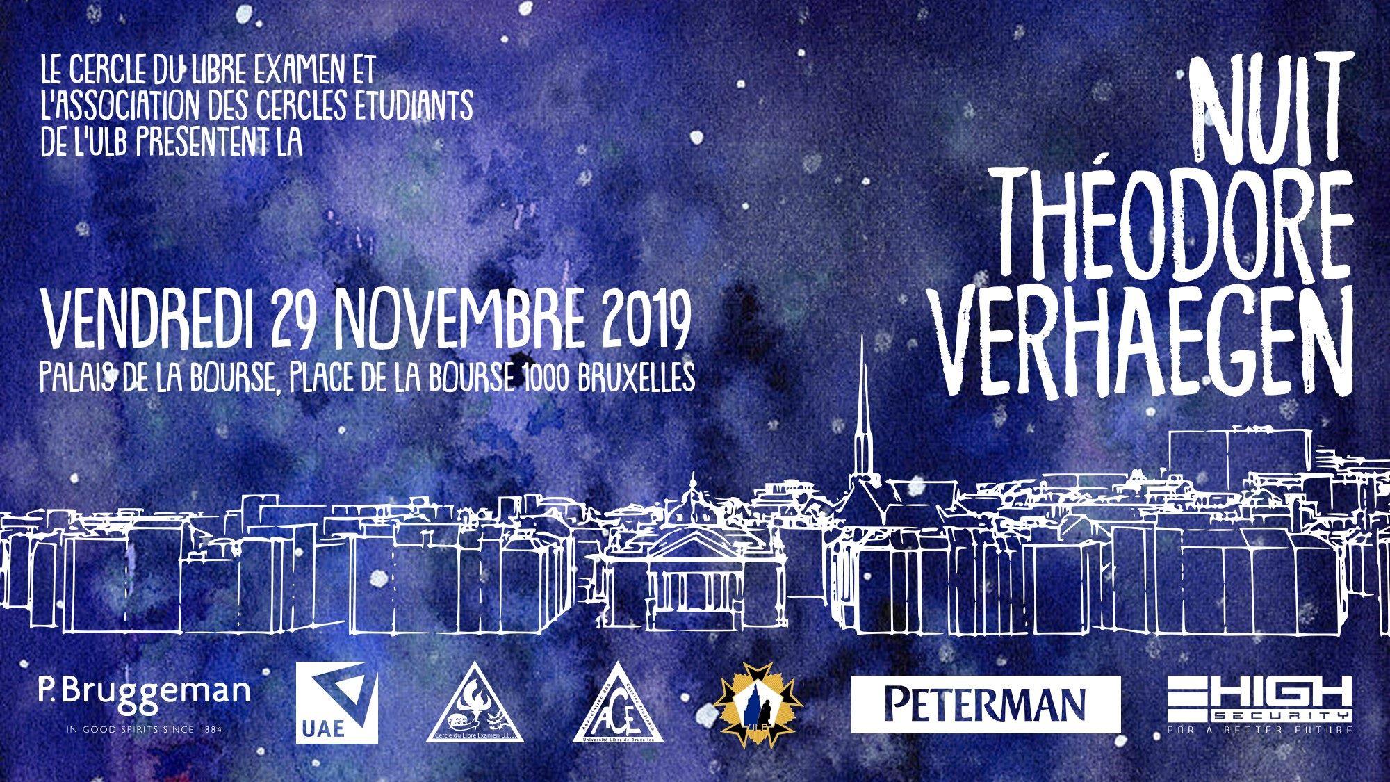 Nuit Théodore Verhaegen 2019