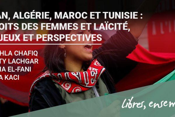 Rencontre-débat: «Iran, Algérie, Maroc et Tunisie: droits des femmes et laïcité.»