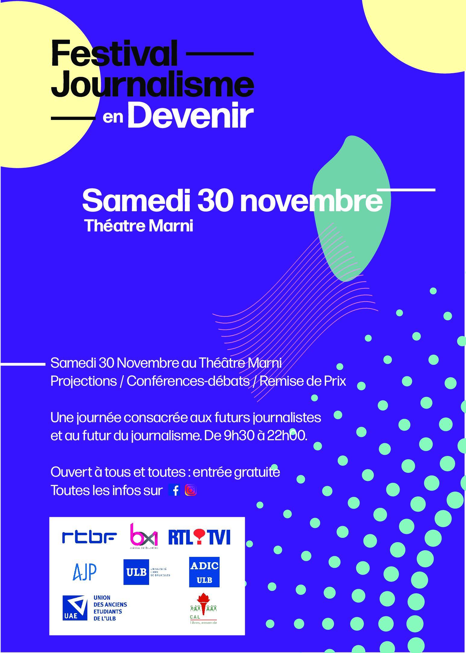 Le Festival du Journalisme en Devenir (FJD)