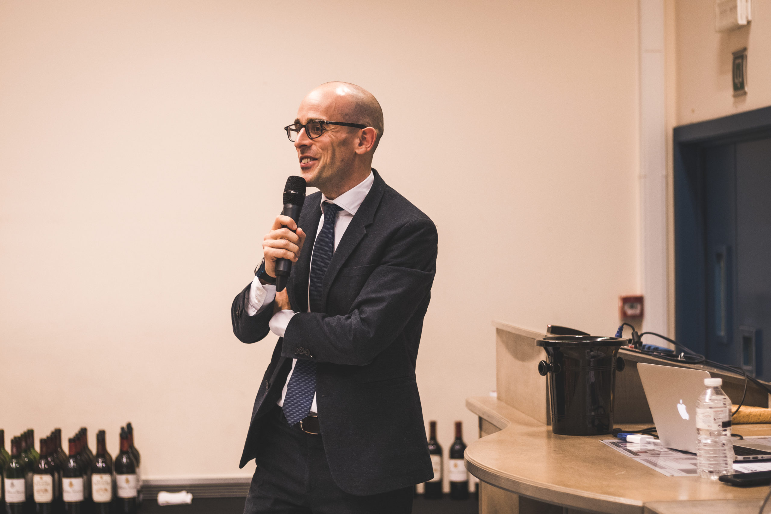 Conférence et dégustation de vin avec Fabrizio Bucella