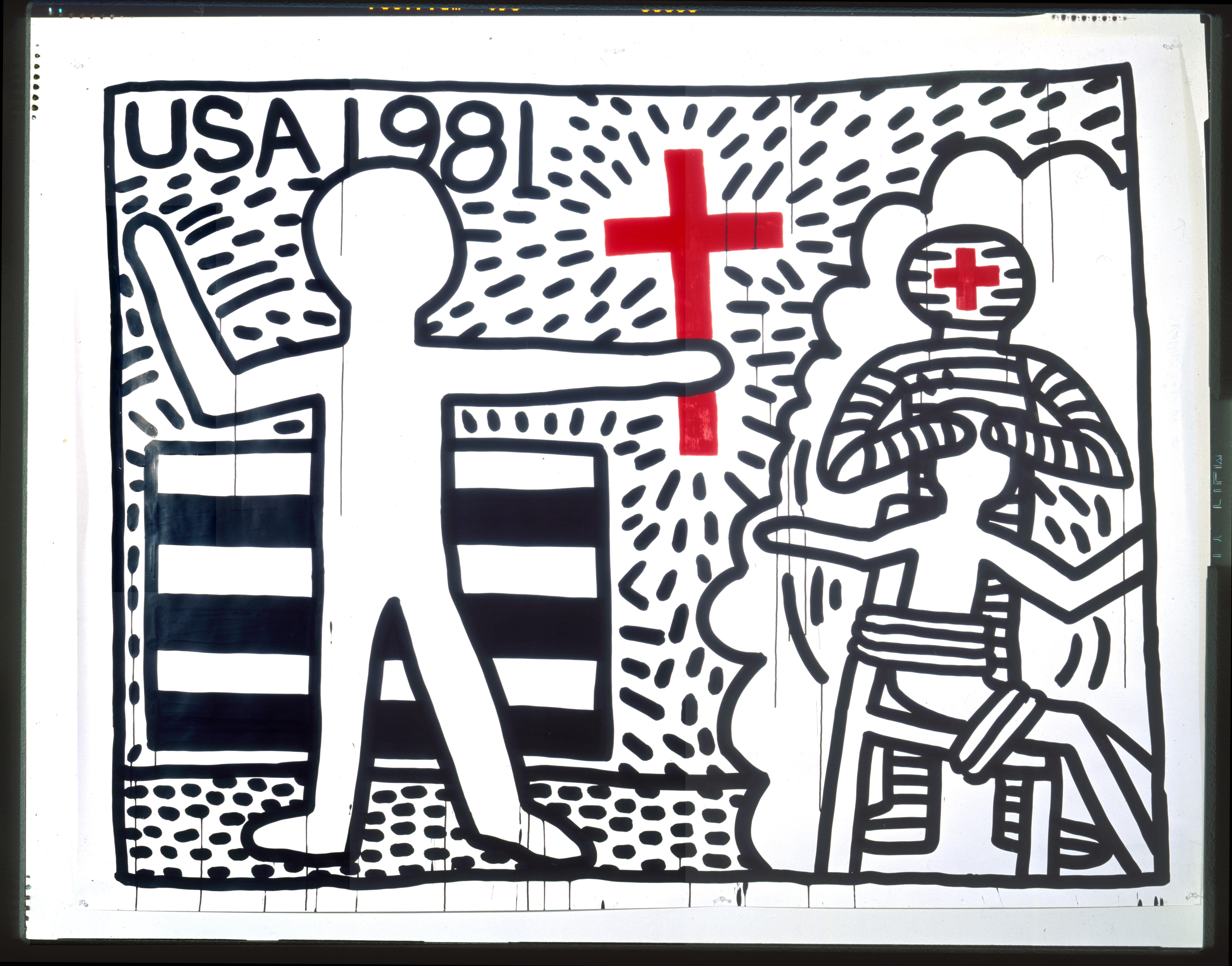 Visites de l'exposition Keith Haring avec l'Union des Anciens étudiants