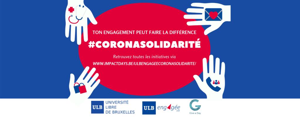 ULB engagée – CoronaSolidarité