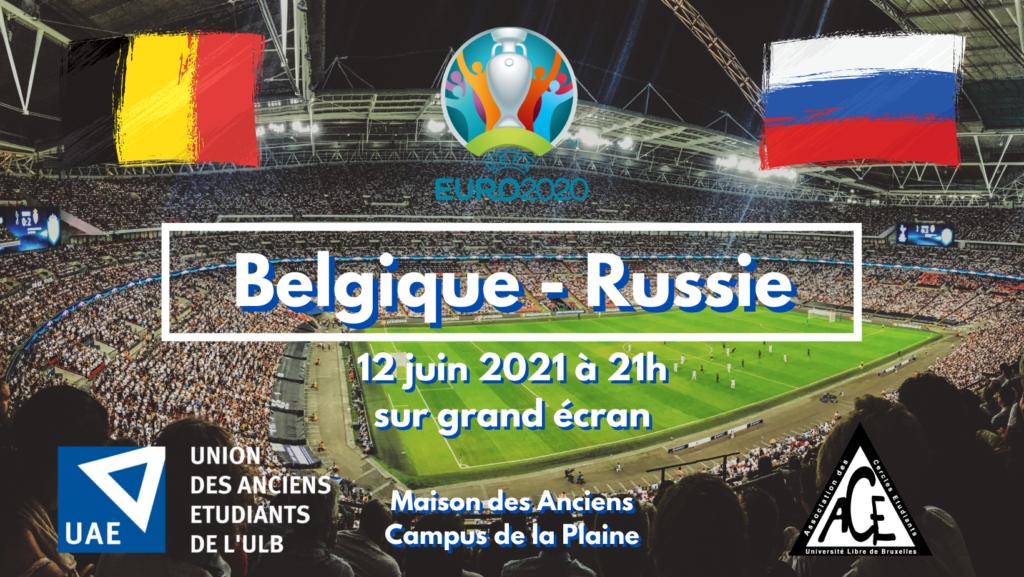 Belgique – Russie sur grand écran à la Maison des Anciens
