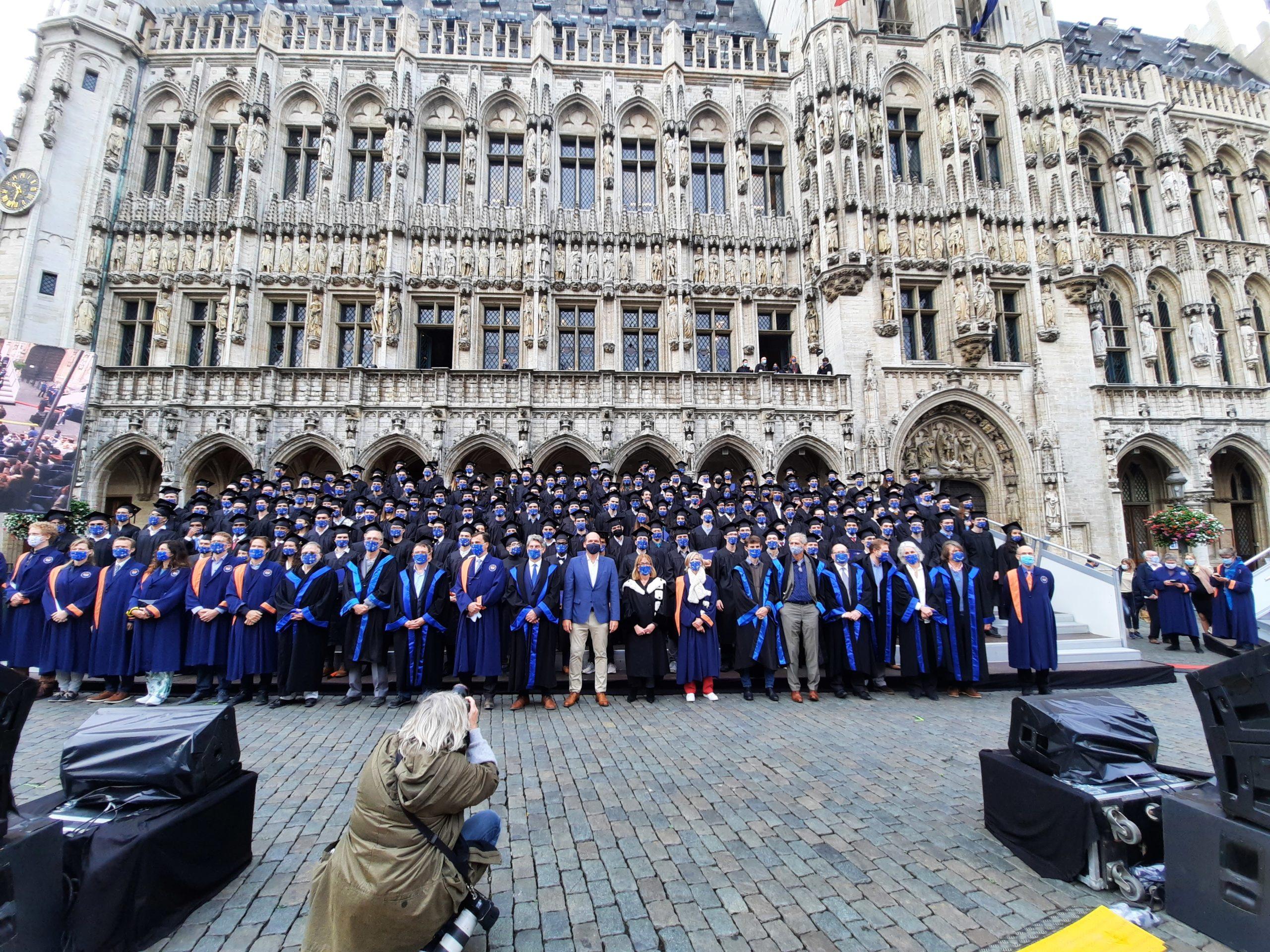 Les Proclamations des diplômé.e.s de l'ULB 2019/2020 – 30 septembre 2020